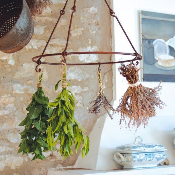 French Iron Herb Drying Rack