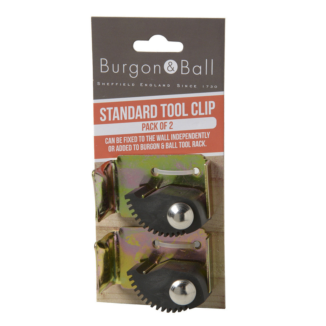 Standard Tool Clips - 2 Pack - The Potting Shed Garden Tools
