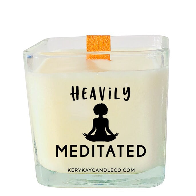 Heavily Meditated Candle