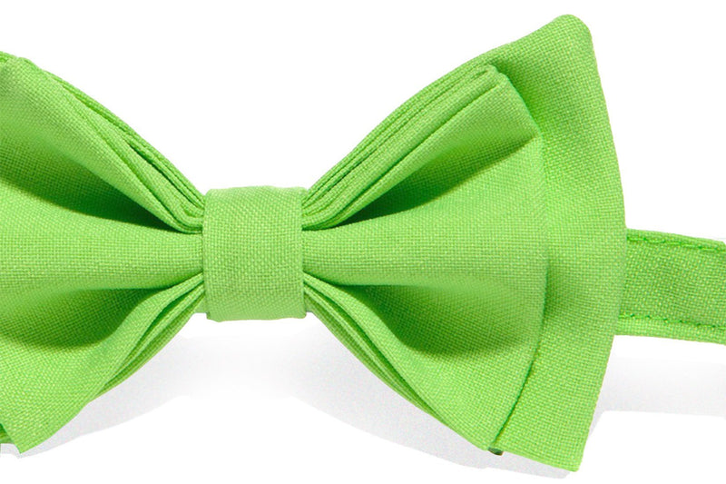 Lime Bow Tie