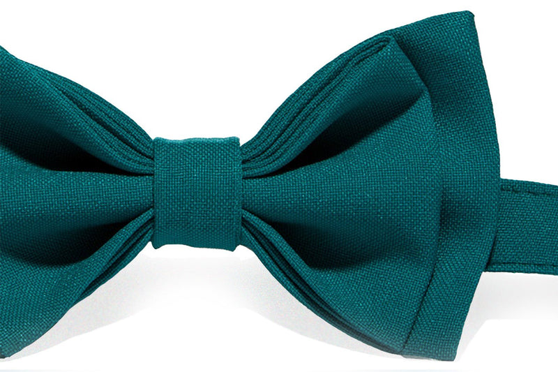 Teal Bow Tie