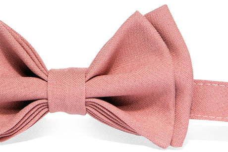Dusty Rose Bow Tie