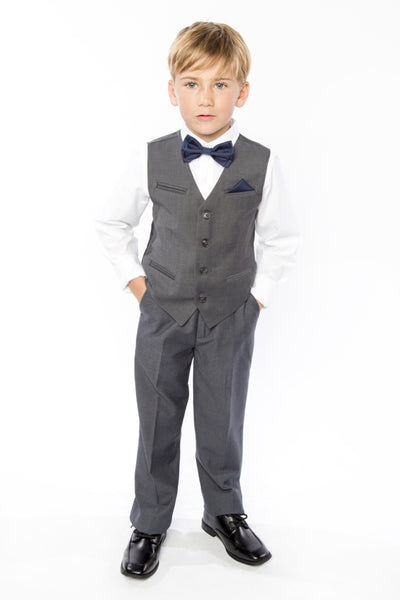 Navy Bow Tie for Kids