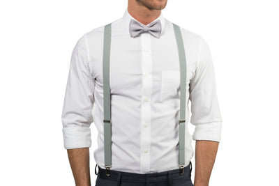 Light Gray Bow Tie