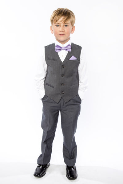 Purple Bow Tie for Kids