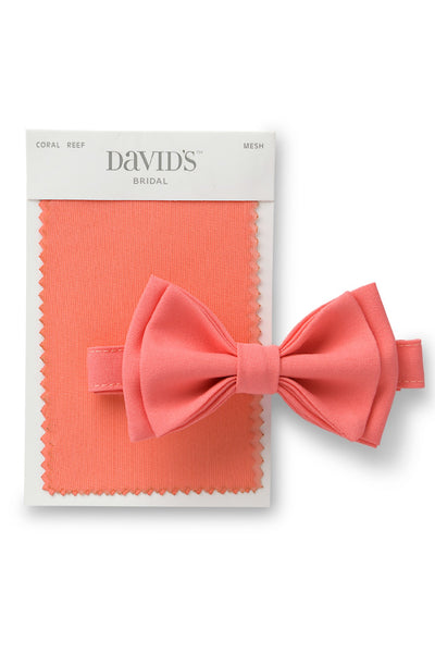 David's Bridal Coral Reef Fabric Swatch