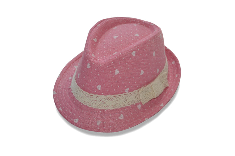 Pink Fedora for Girls