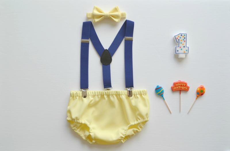 Yellow Diaper Cover