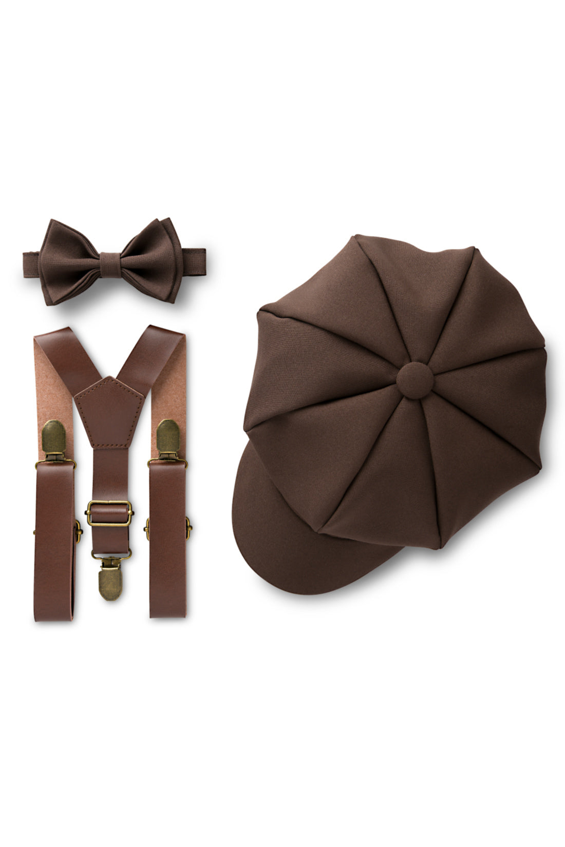 Brown Newsboy Outfit