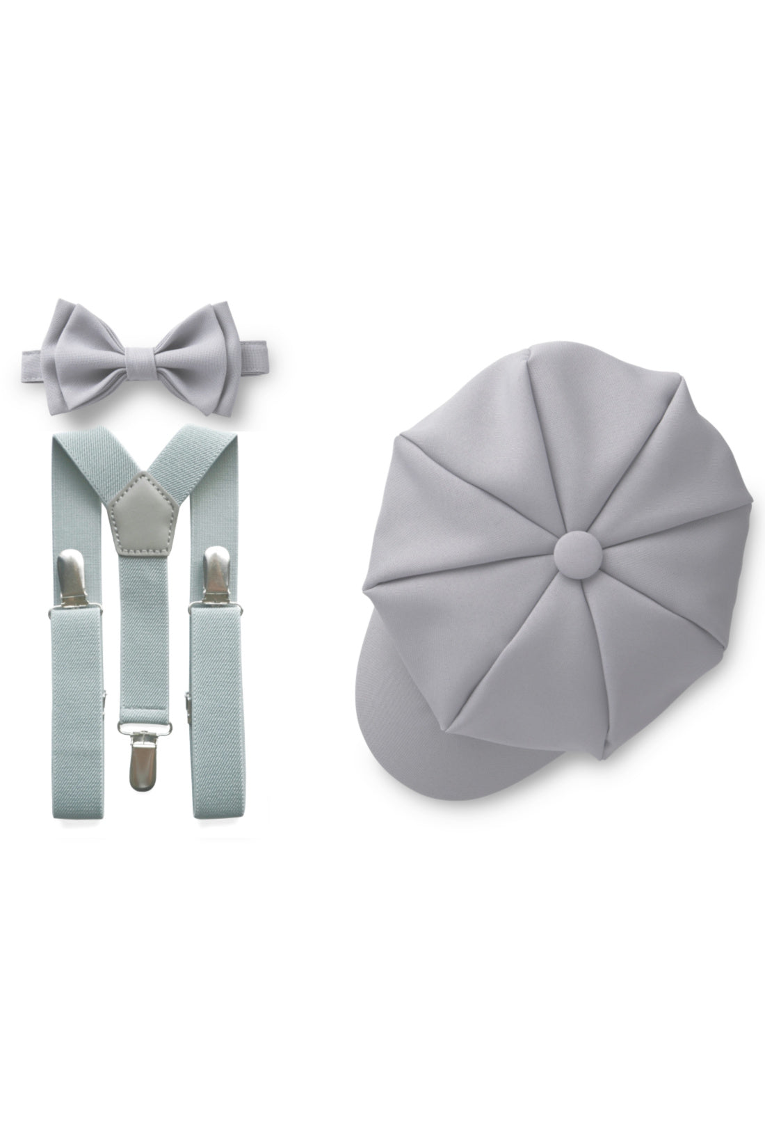 Light Grey Ring Bearer Set