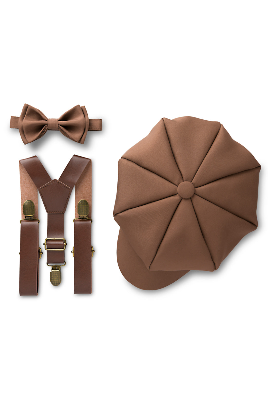 Medium Brown Ring Bearer Outfit