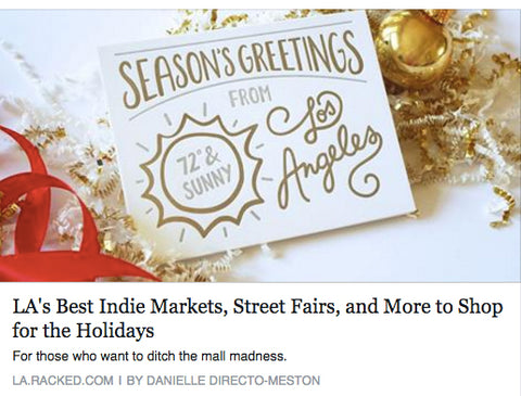 Best Indie Markets, Street Fairs, and More to Shop for the Holidays