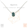 Crystal Intention Necklace - Apatite