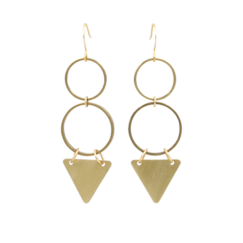 Mini Spike Threader Earrings