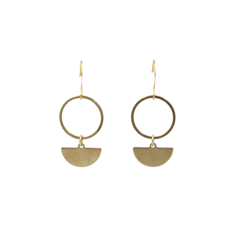 Sadie Mini Geo Dangle Earrings