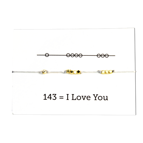 I Love You - Secret Code Necklace - Emerald