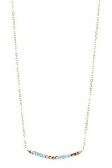 Secret Code I Love You Necklace Appatite Gold