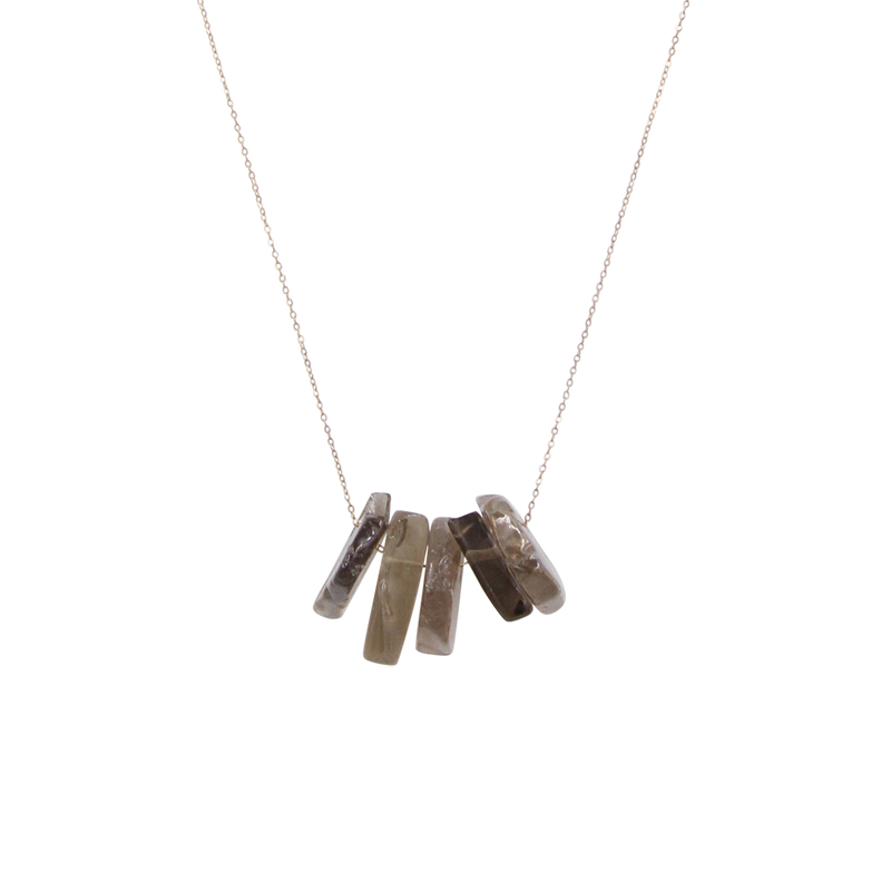 Fumoso Smoky Quartz Necklace