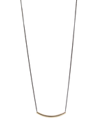 Balanco Tube & Chain Necklace