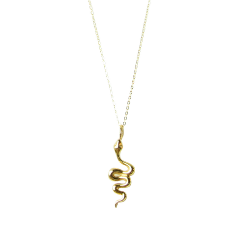 Talisman - Dharma Gold Mini Buddha Necklace
