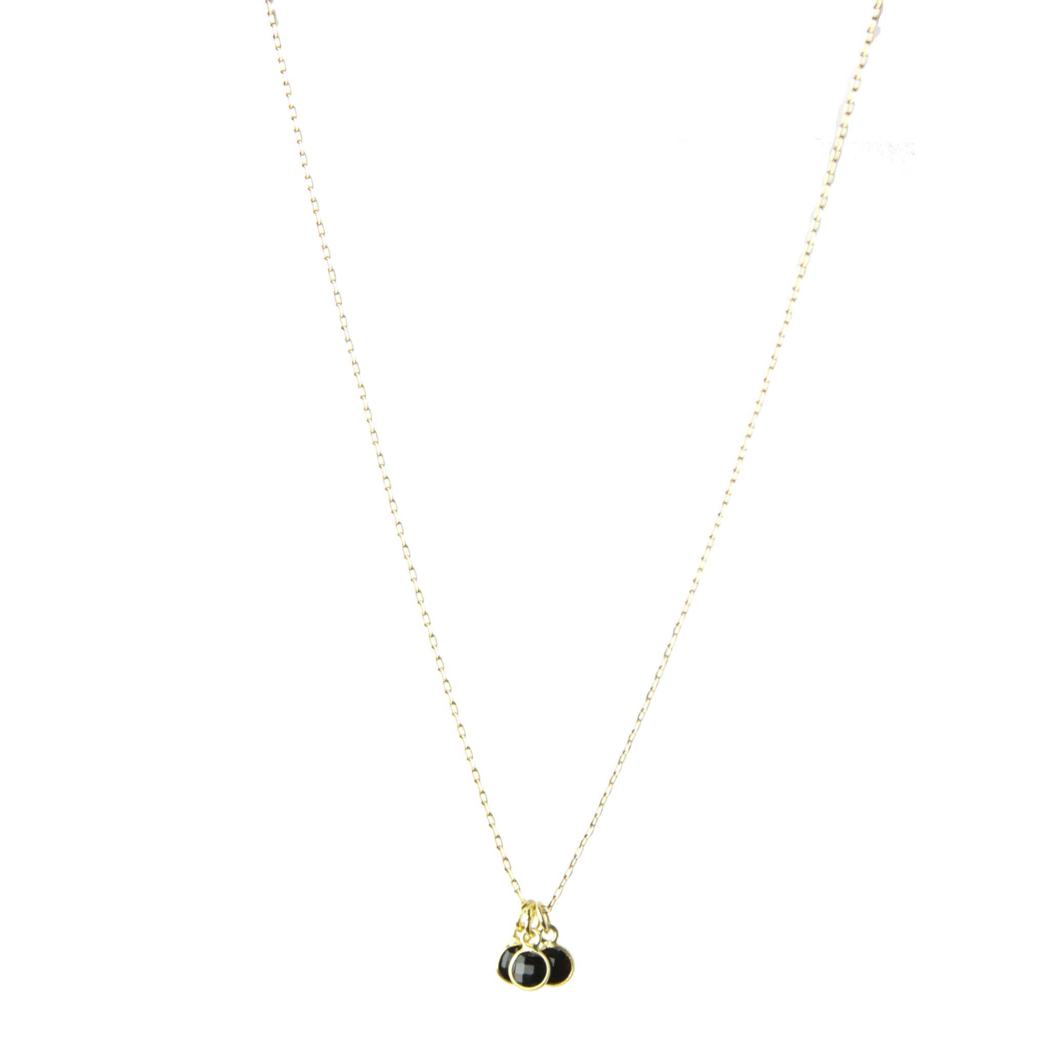 lolo accessories spinel disc specialty necklace and black shop charm gold with jewellery product
