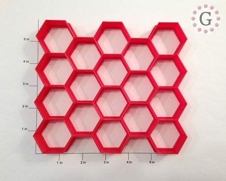 "1.5"" Hexagon 18-Count Cutter"