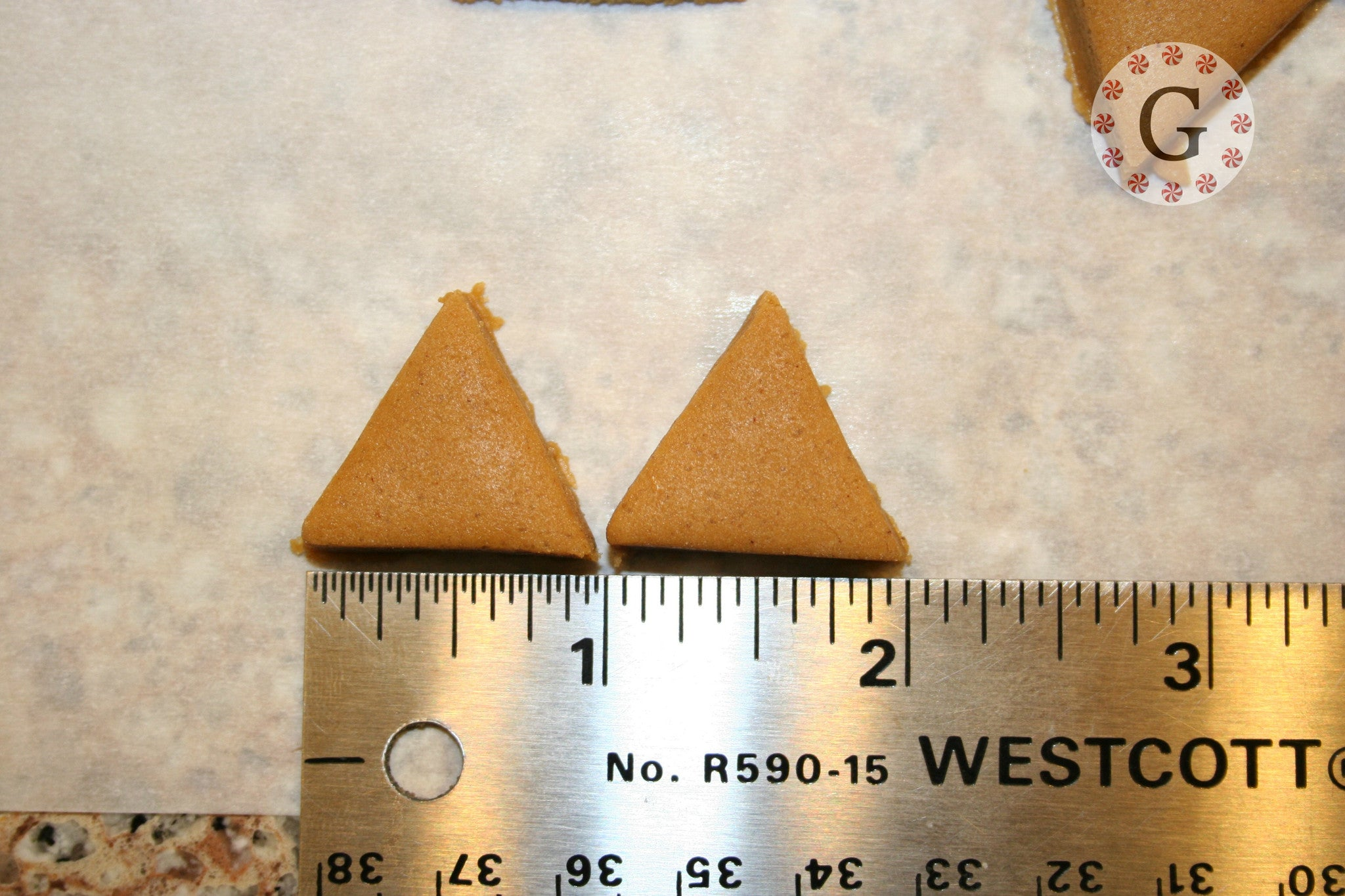 "1"" Triangle 18-Count Cutter"