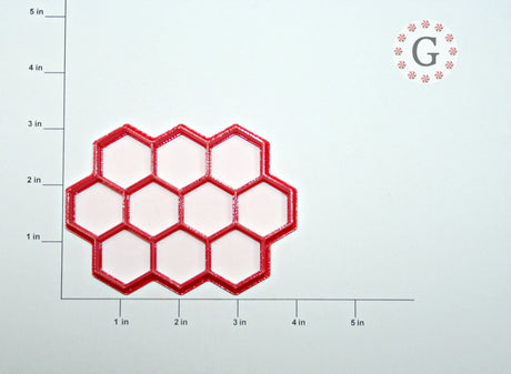 "1"" Hexagon 10-Count Cutter"