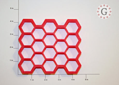 "1"" Hexagon 18-Count Cutter"