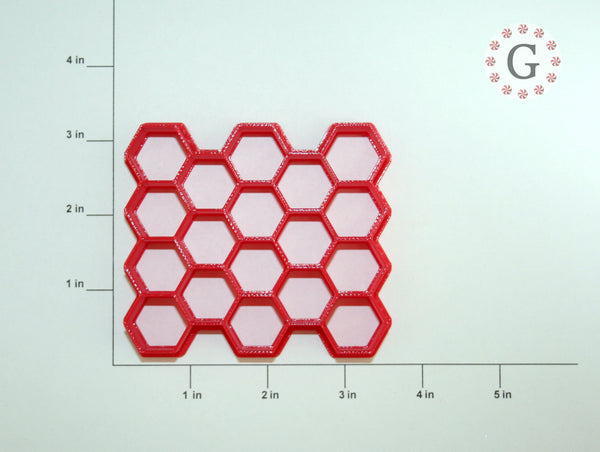 "3/4"" Hexagon 18-Count Cutter"
