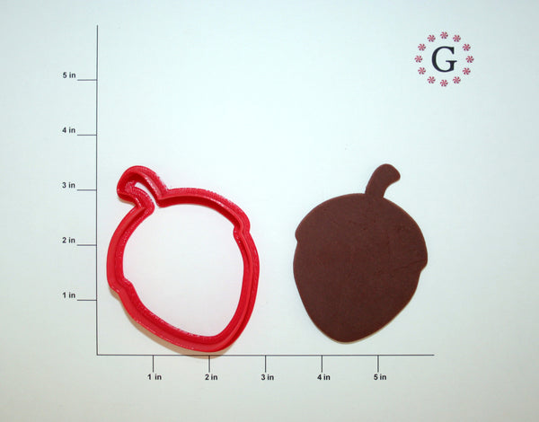 Acorn Cookie Cutter - 2 Size Options