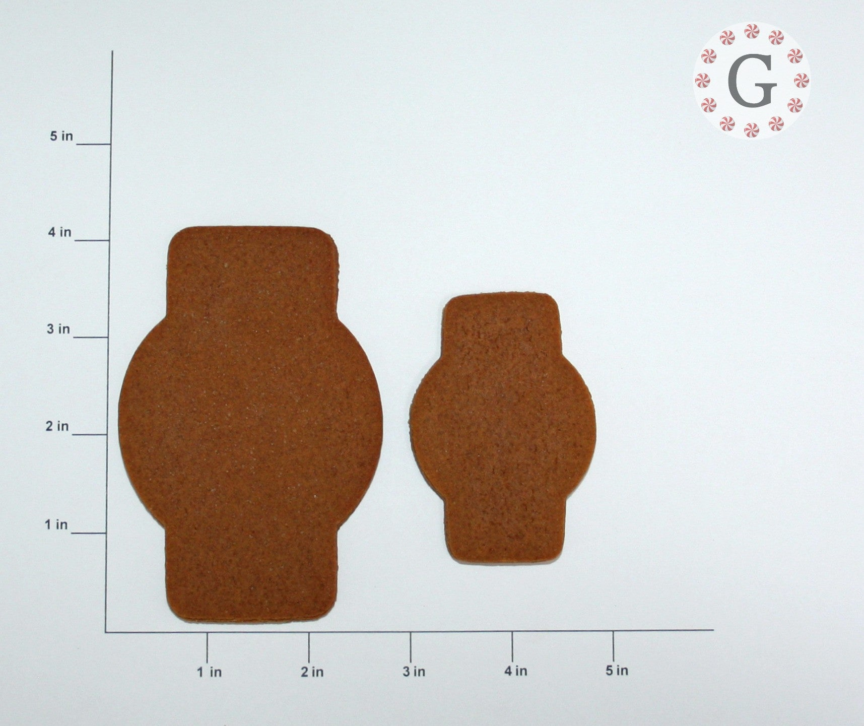 Mr. Anton Plaque Cookie Cutter - 2 Size Options