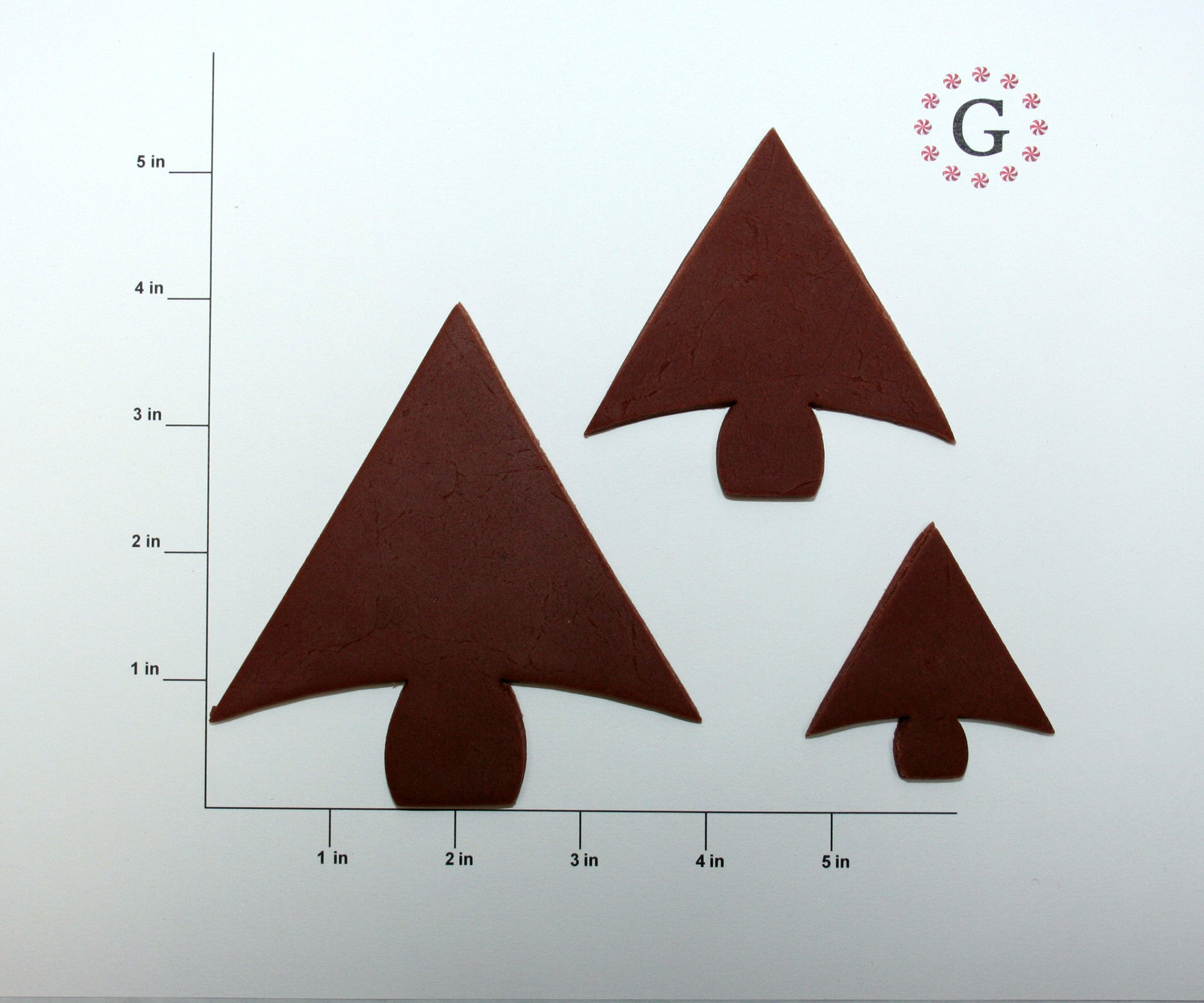 Arrow Tree Cookie Cutter - 3 Size Options
