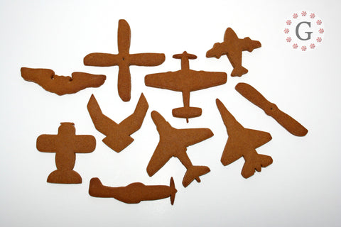P-51 Mustang Top View Cookie Cutter