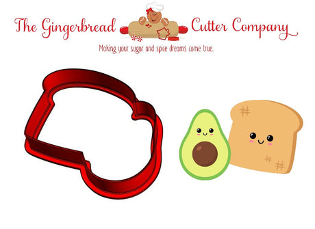 We Go Together Like...Avocado & Toast Cookie Cutter