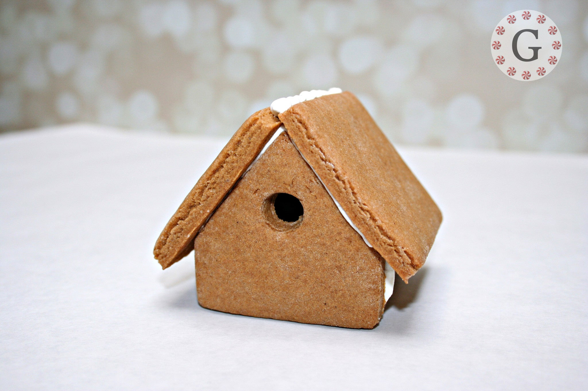 "Mini Gingerbread House Cutter - ""Bird House"""