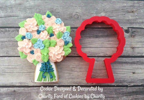 Bridal Bouquet Cookie Cutter