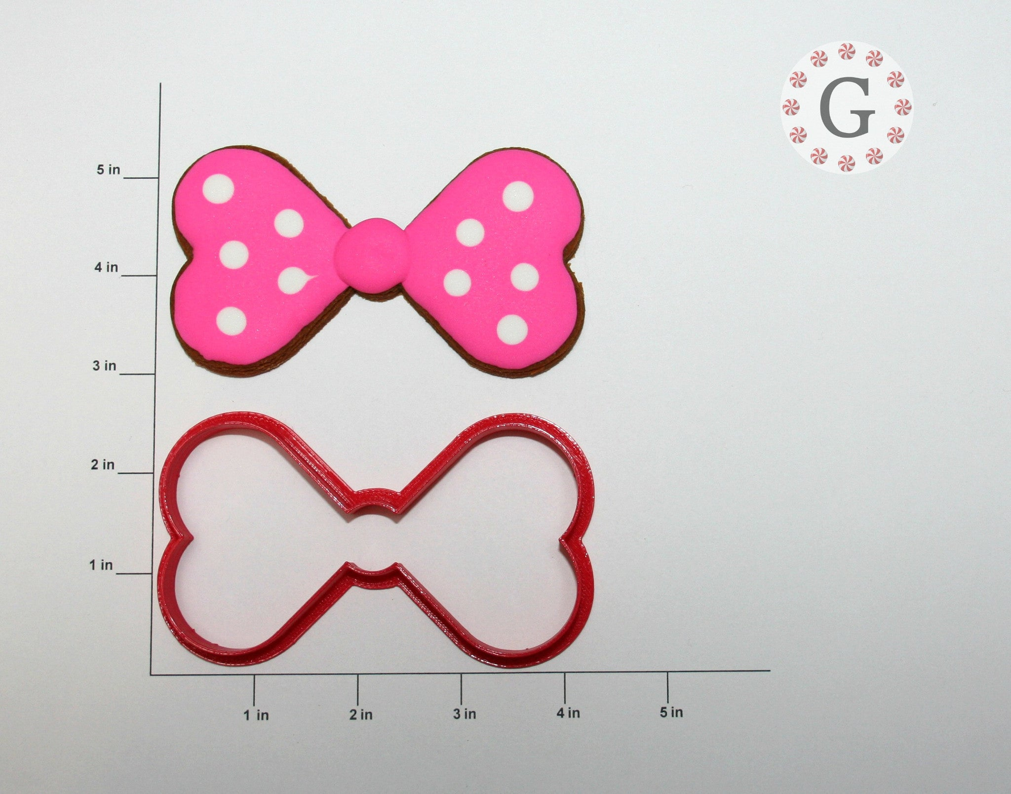 Large Bow Cookie Cutter