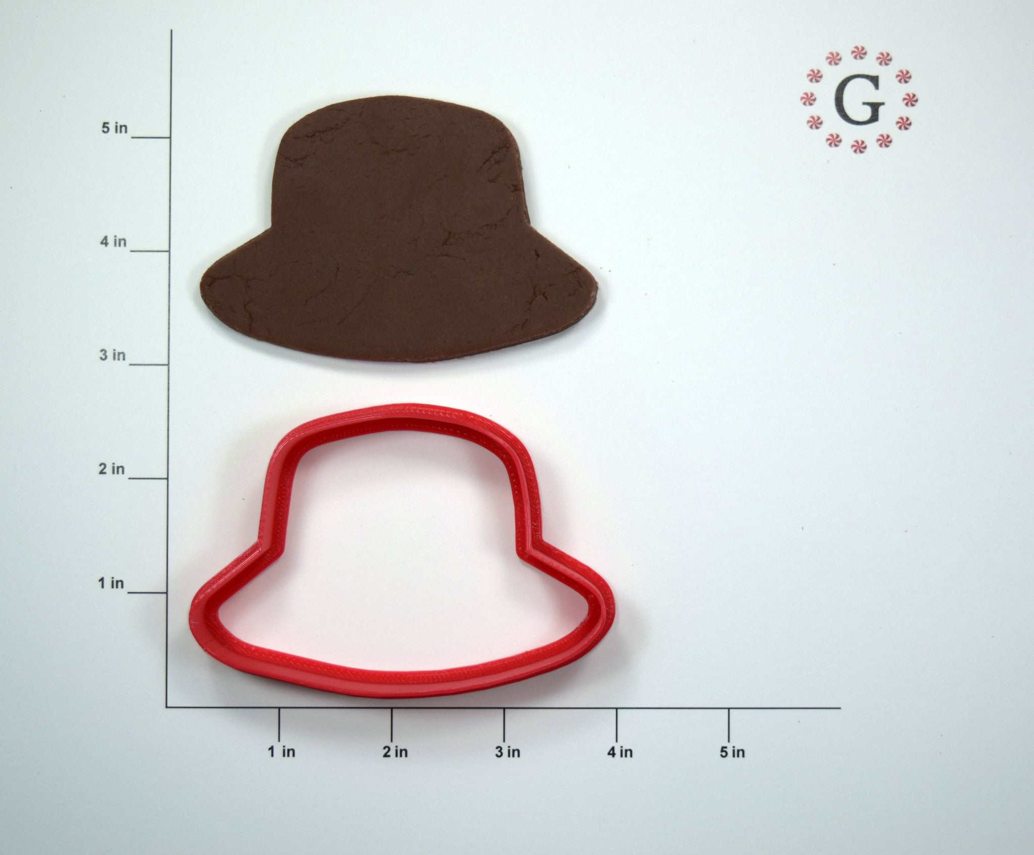 Bucket Hat Cookie Cutter