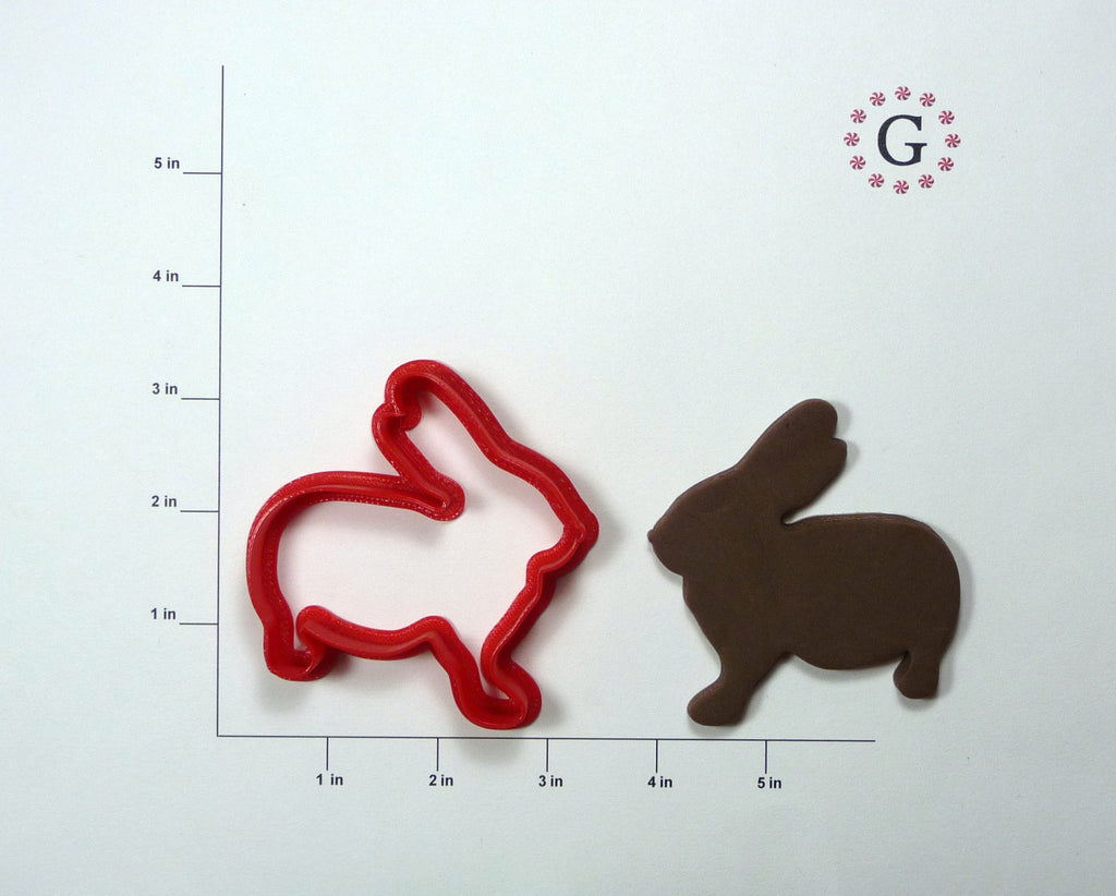 Ben the Bunny Cookie Cutter
