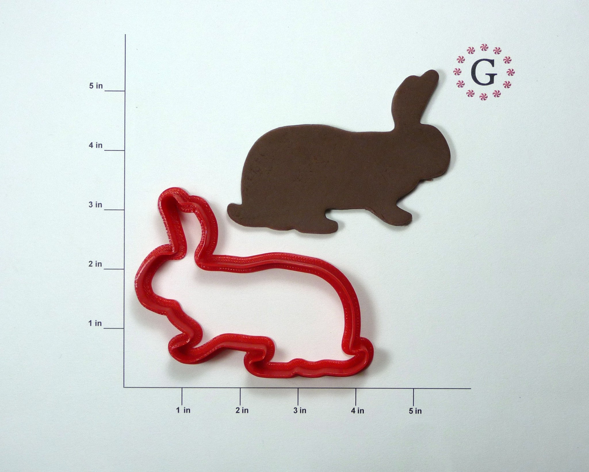 Bob the Bunny Cookie Cutter