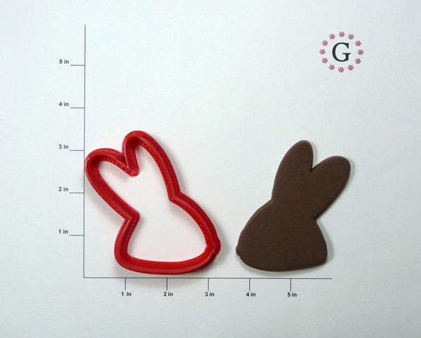 Bunny Head Profile Cookie Cutter
