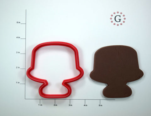 Covered Cake Cookie Cutter