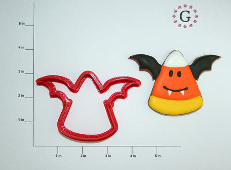 Candy Corn Bat Cookie Cutter
