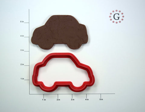 Car Cookie Cutter - 3 Size Options