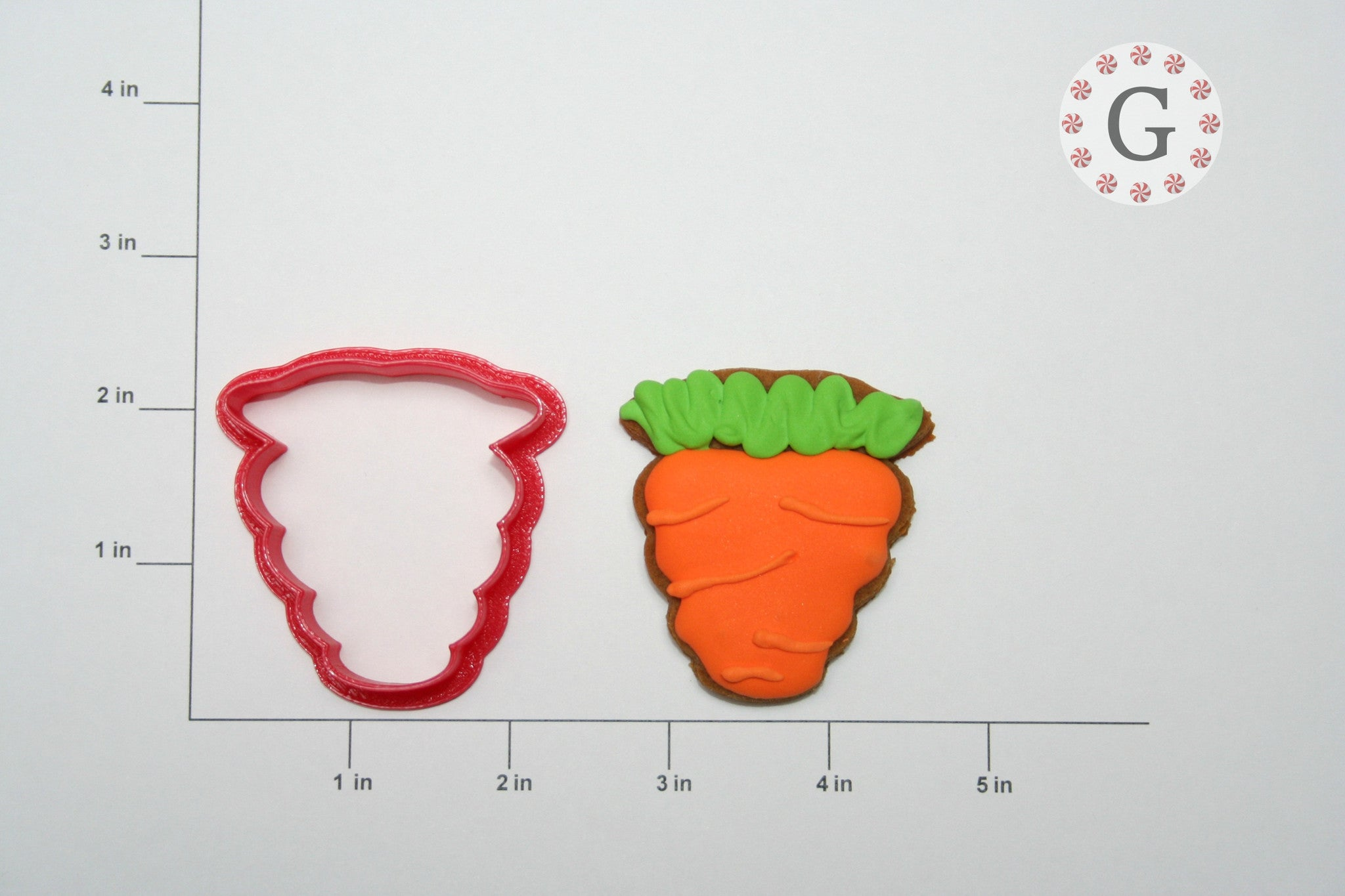 Chubby Carrot Cookie Cutter