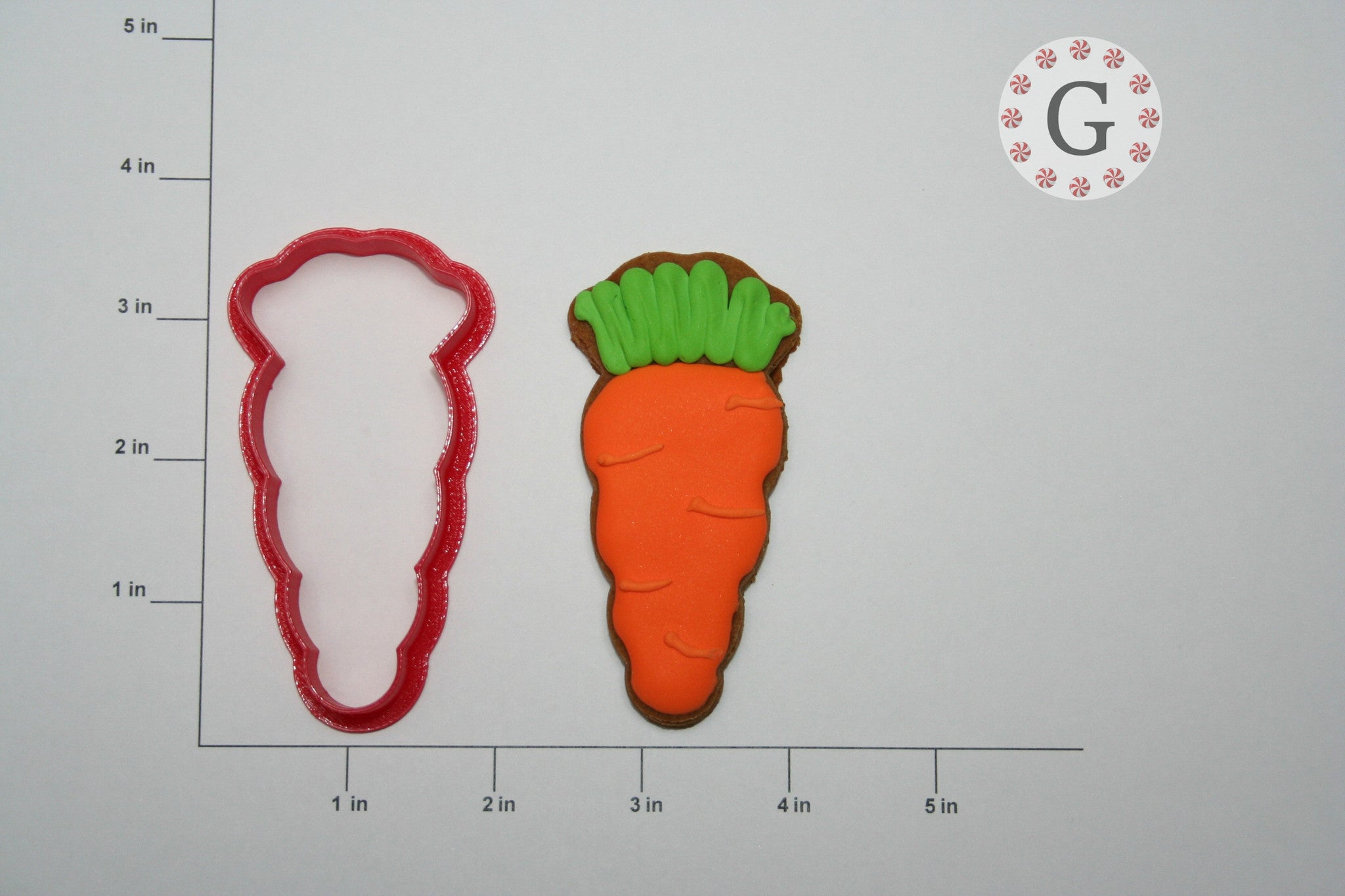 Carrot Cookie Cutter - 3 Size Options