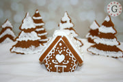 "Mini Gingerbread House Cutter - ""Chalet"""