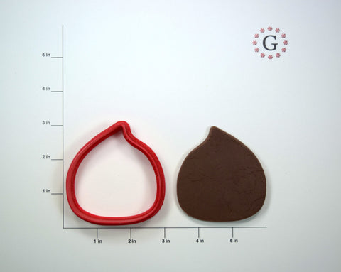 Chestnut Cookie Cutter