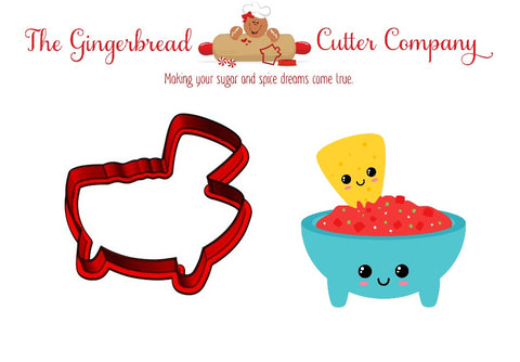 We Go Together Like...Chips & Salsa Cookie Cutter